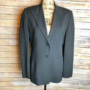 Vintage HAROLD'S Black Blazer, size 8